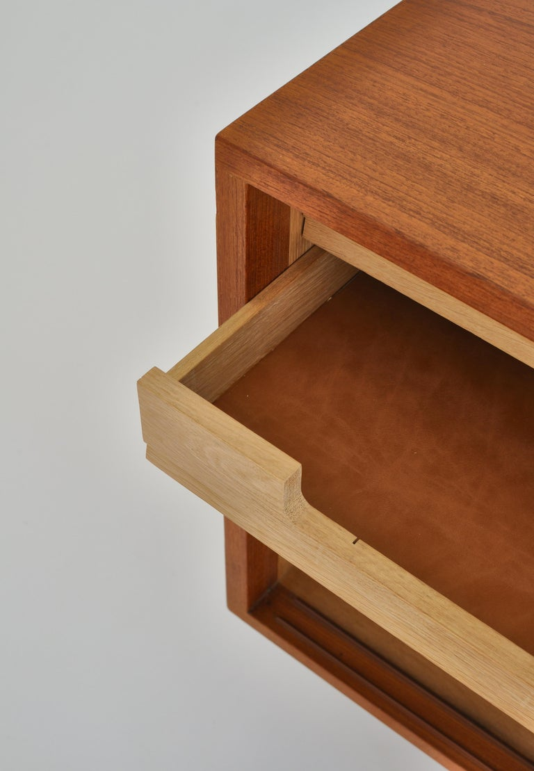 Hans J. Wegner Sideboard in Teakwood made at Cabinetmaker Johannes Hansen, 1960s 8