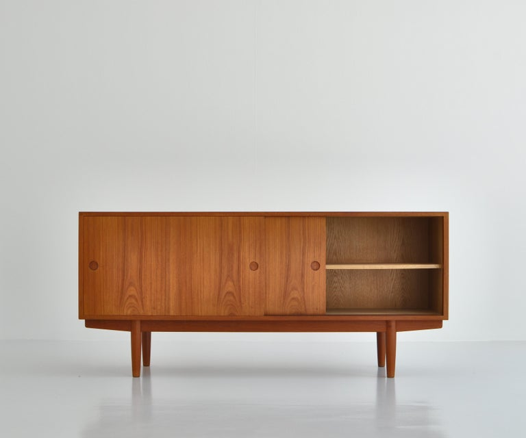 Danish Hans J. Wegner Sideboard in Teakwood made at Cabinetmaker Johannes Hansen, 1960s