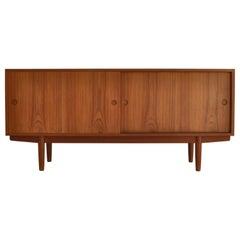 Hans J. Wegner Sideboard in Teakwood made at Cabinetmaker Johannes Hansen, 1960s