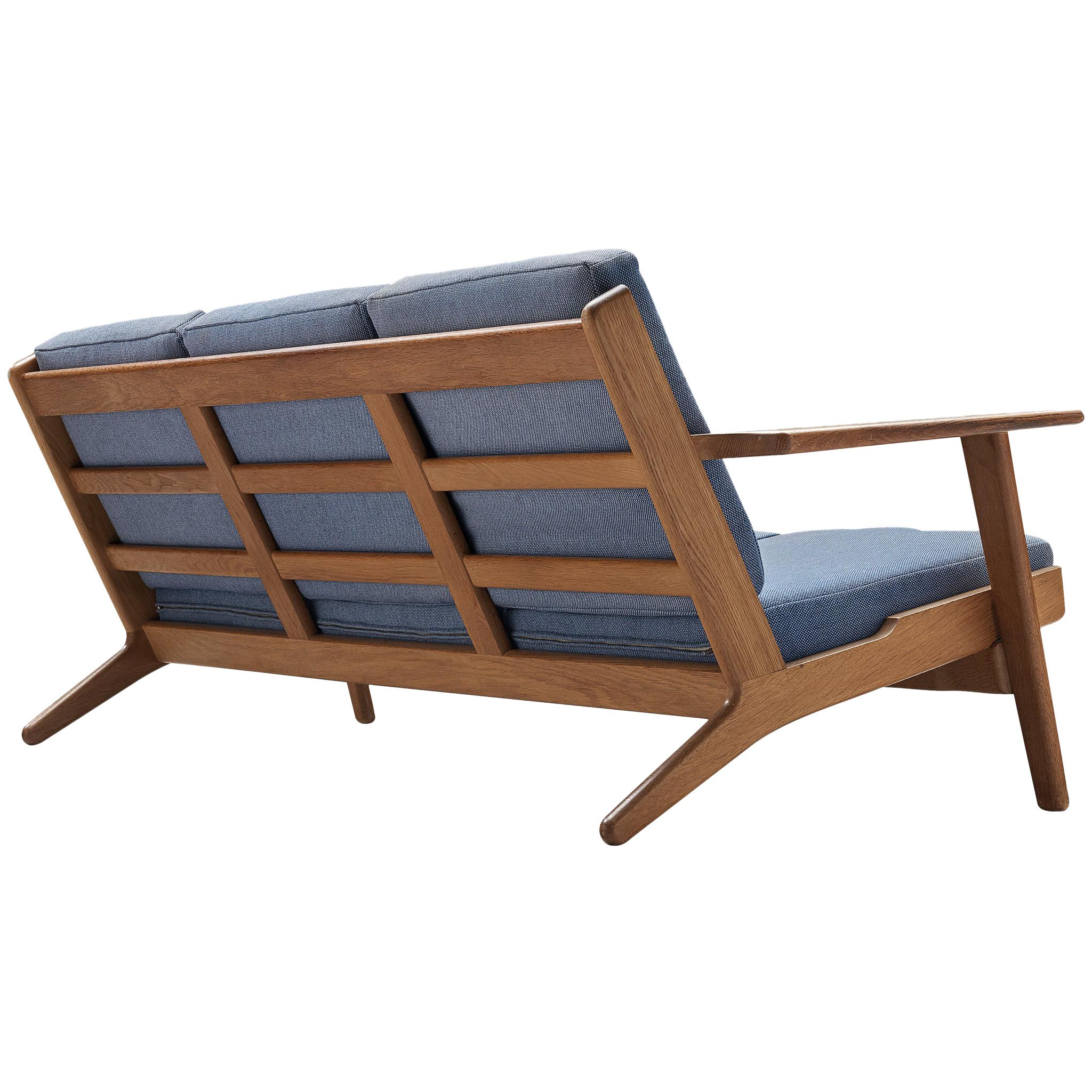 Hans J. Wegner Sofa GE290 in Oak for GETAMA