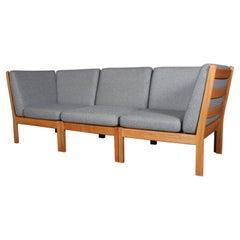 Hans J. Wegner Three-Seat Modul Sofa