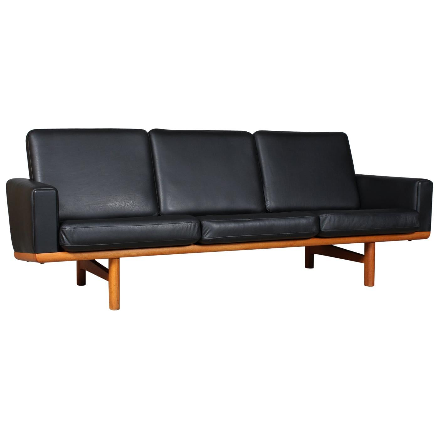 Hans J. Wegner Three-Seat Sofa