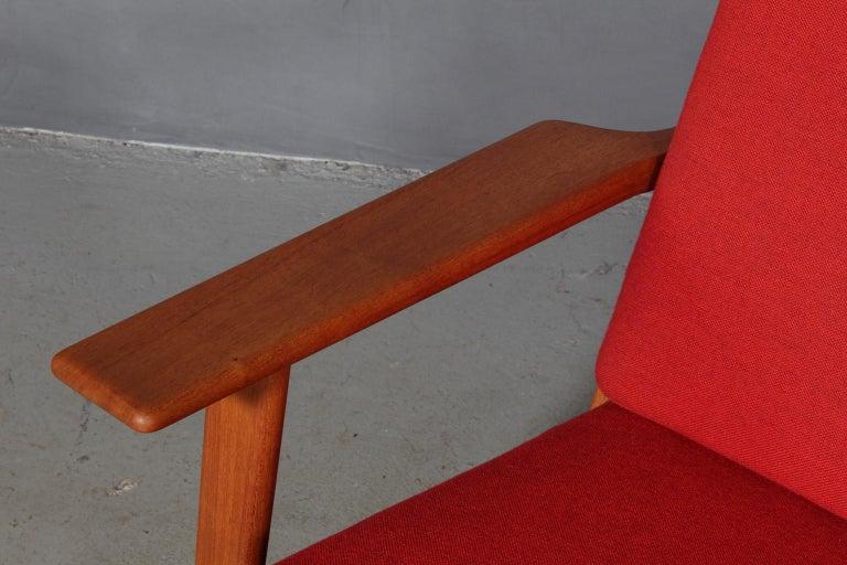 Hans J. Wegner, Three-Seat Sofa, Model 290, Teak In Good Condition For Sale In Esbjerg, DK