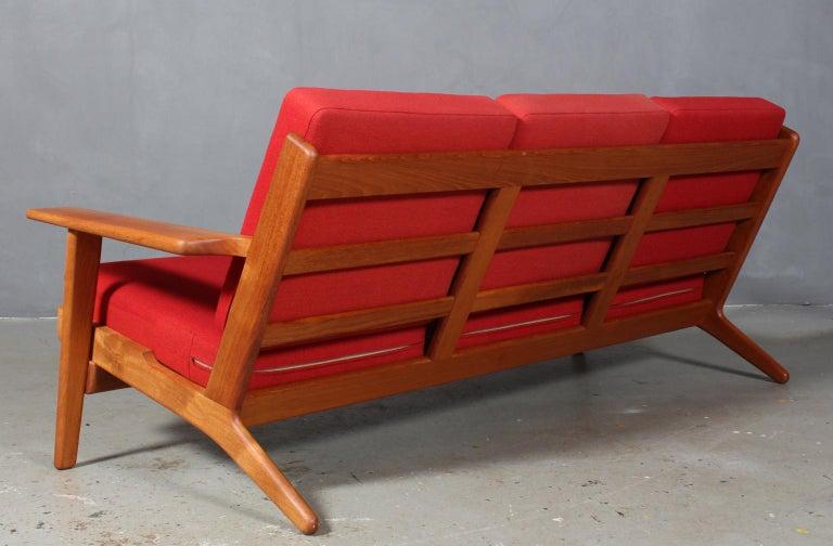 Hans J. Wegner, Three-Seat Sofa, Model 290, Teak For Sale 2