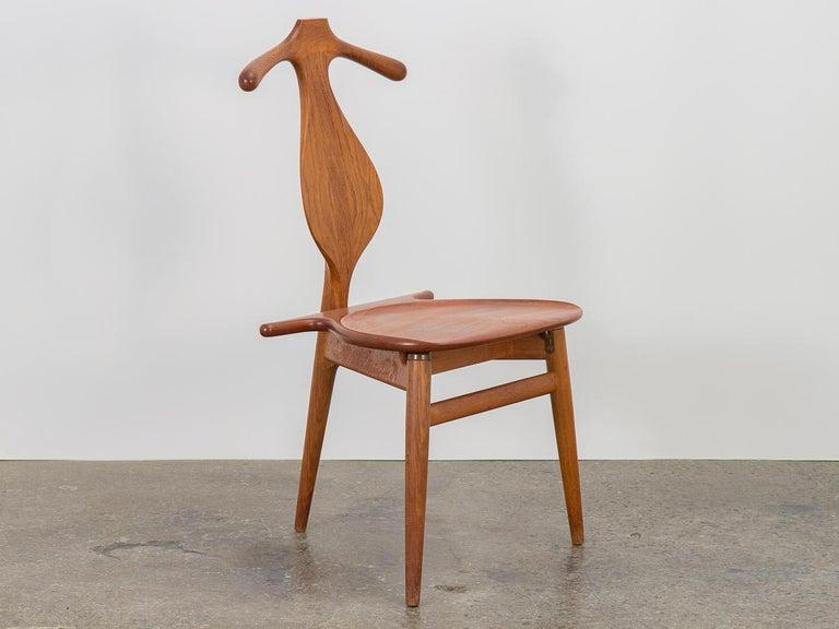 Scandinavian Modern Hans J. Wegner Valet Chair For Sale
