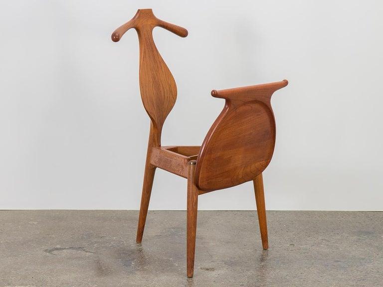 Danish Hans J. Wegner Valet Chair For Sale