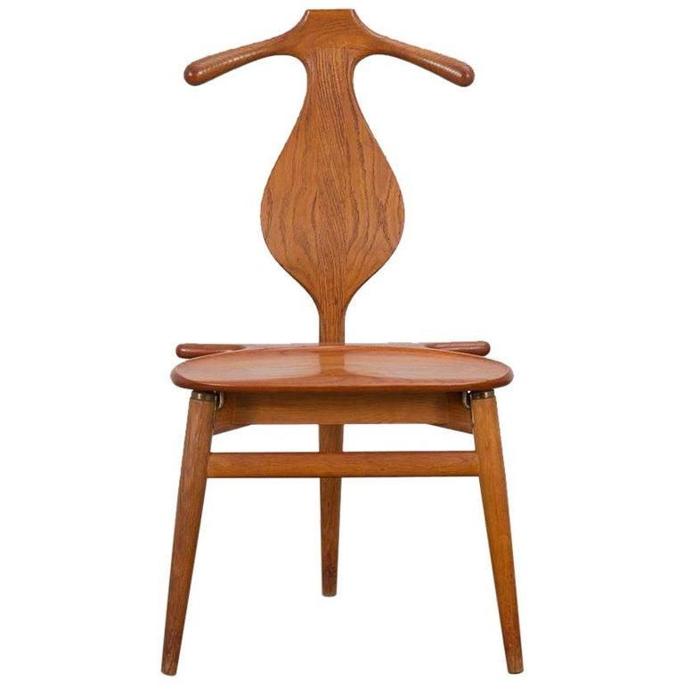 Hans J. Wegner Valet Chair For Sale