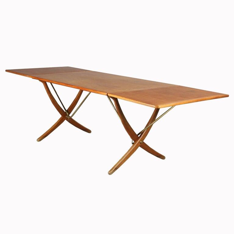 Astounding Hans J Wegner Dining Table At 304 1960S Interior Design Ideas Clesiryabchikinfo
