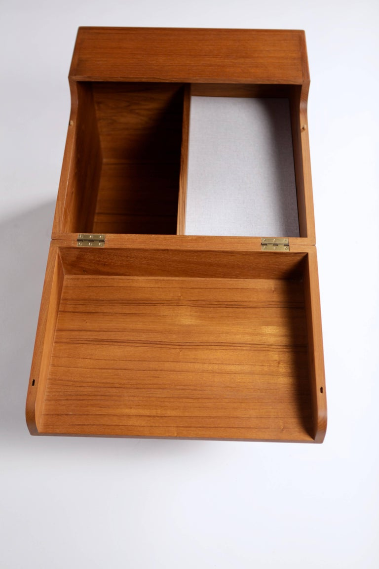 Wegner, Minibar, Modellnr. AT34 ca. 1959, Teak 9