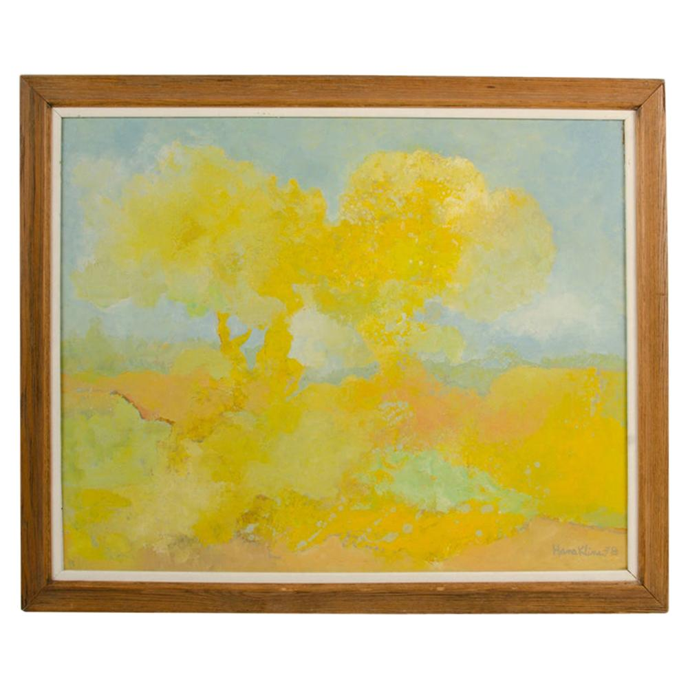 "Hans Kline 'Canadian, 1924-1994' ""Two Trees"""