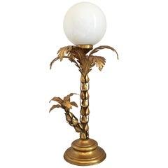 Hans Kogl Gilt Palm Tree Lamp