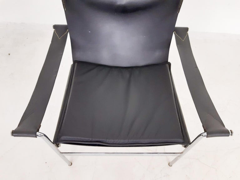 Leather Hans Konecke for Tecta D99 Lounge Chair, Germany, 1969 For Sale
