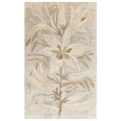 """Hans Krondahl """"Lillies"""" Tapestry. Size: 3 ft 5 in x 6 ft 6 in (1.04 m x 1.98 m)"""