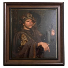 Hans Laagland Oil on Wood Neo Barok Follow PP Rubens
