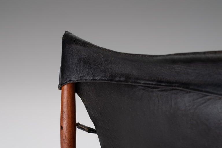 "Hans Olsen ""Antilope"" Safari Lounge Chair, 1960s For Sale 1"
