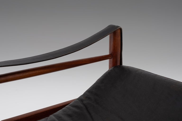 "Hans Olsen ""Antilope"" Safari Lounge Chair, 1960s For Sale 2"