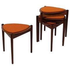 Hans Olsen Bramin Reversible Stools or Tables