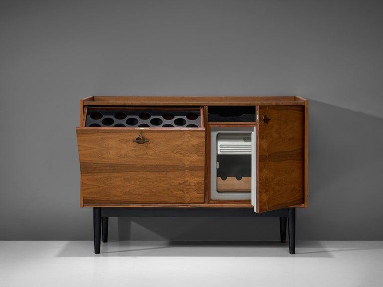 Mid-Century Modern Hans Olsen Dry Bar Cabinet in Rosewood For Sale