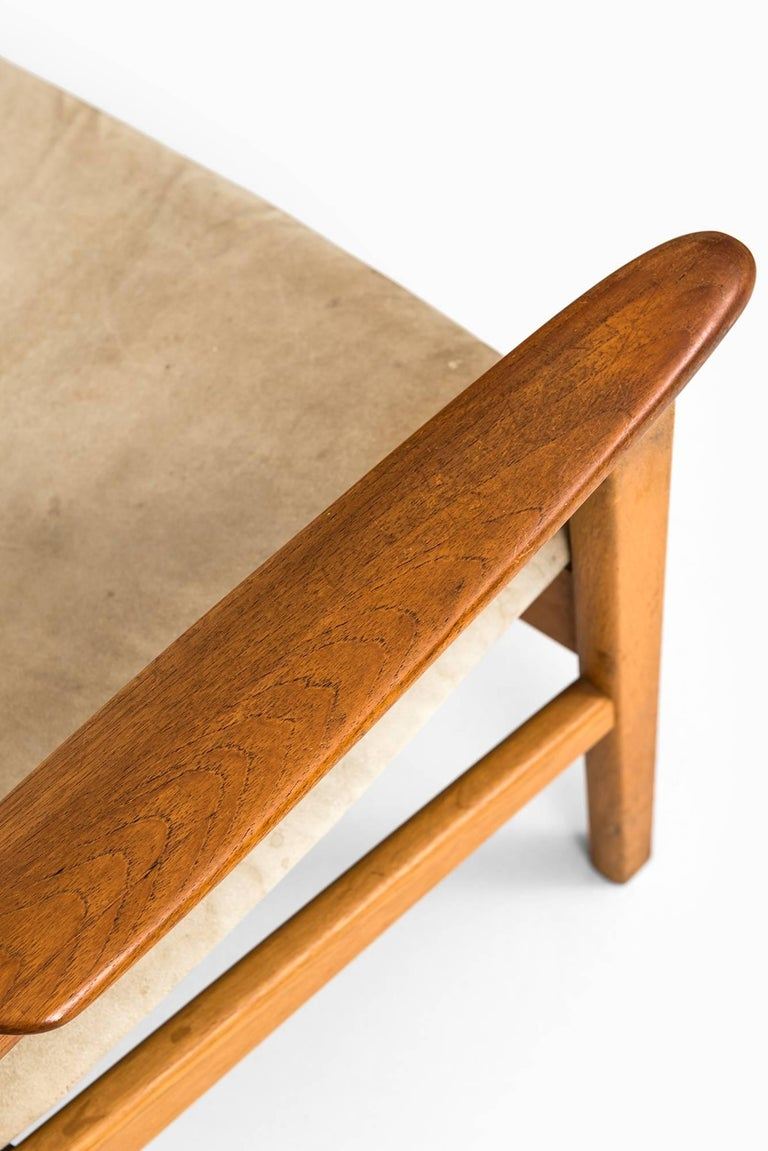 Scandinavian Modern Hans Olsen Easy Chairs Model 9015 by Gärsnäs in Sweden For Sale