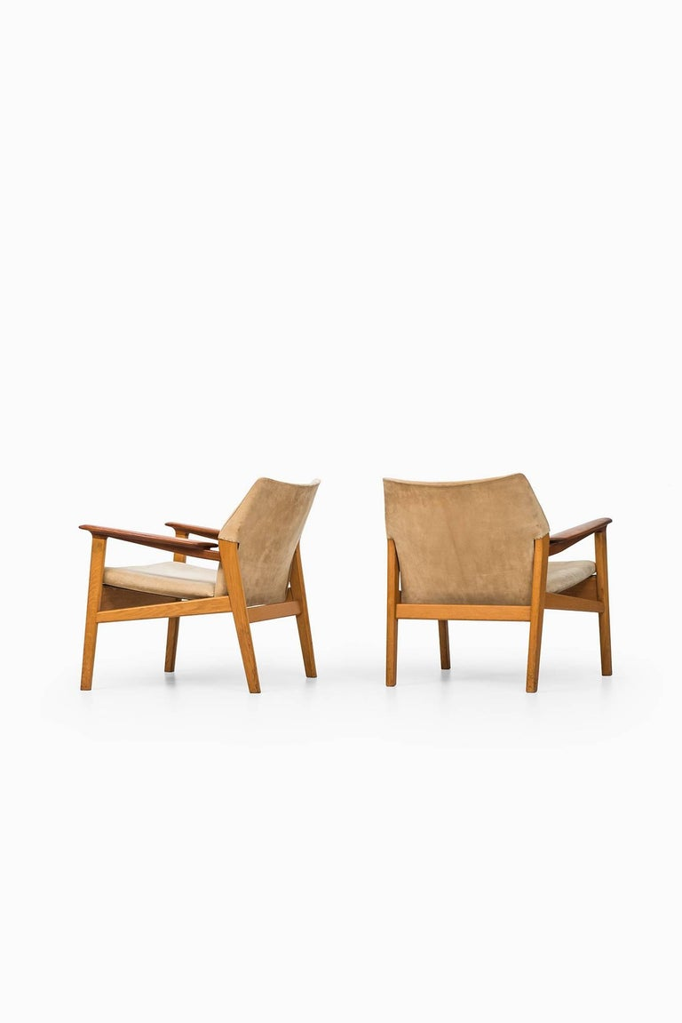 Hans Olsen Easy Chairs Model 9015 by Gärsnäs in Sweden For Sale 1