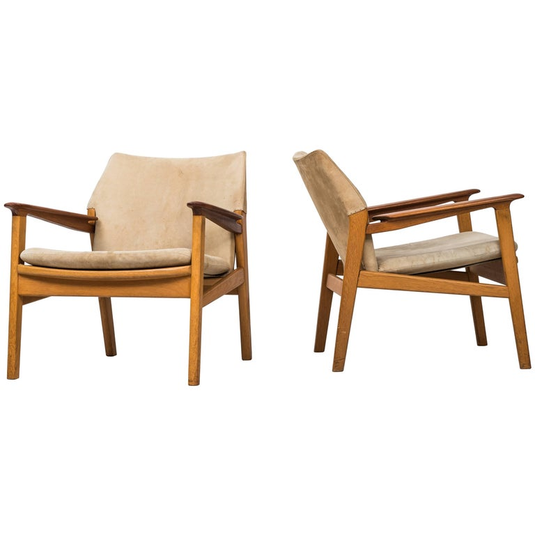 Hans Olsen Easy Chairs Model 9015 by Gärsnäs in Sweden For Sale