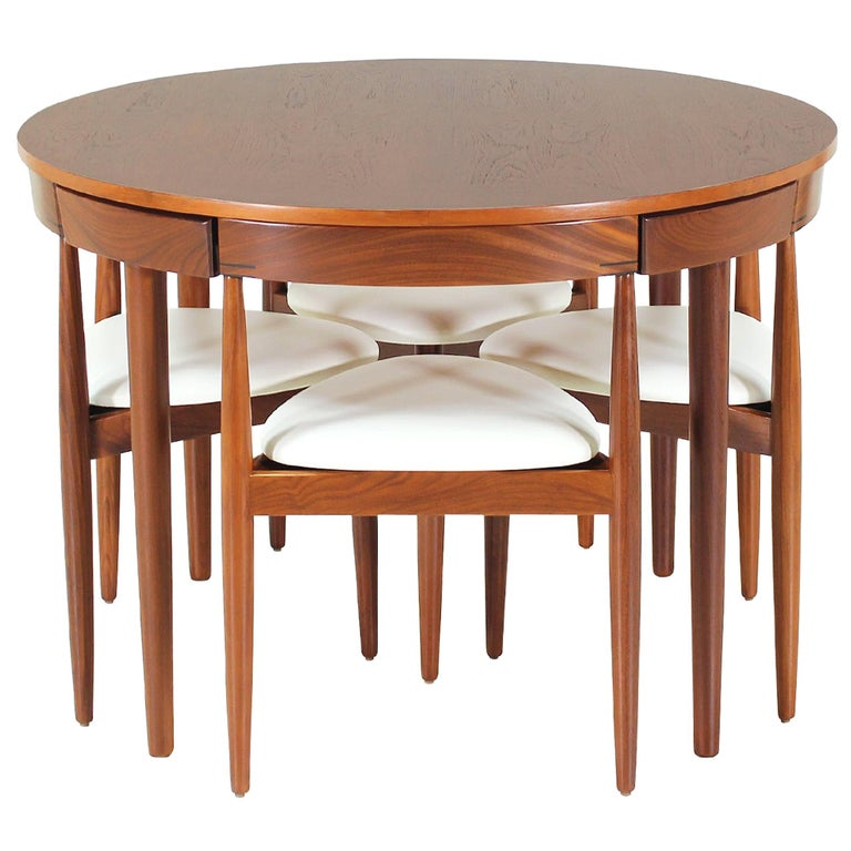 "Hans Olsen ""Roundette"" Dining Set for Frem Rølje For Sale"