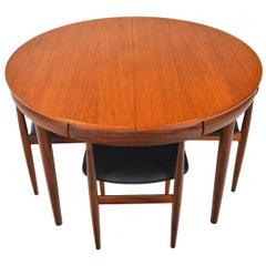 Hans Olsen Roundette Dining Set in Teak