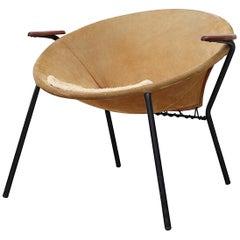 Hans Olsen Suede 'Balloon' Chair