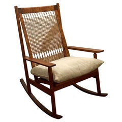 Hans Olsen Teak Rocking Chair