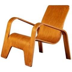 Hans Pieck Molded Armchair