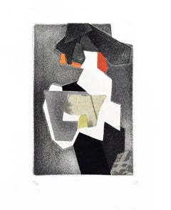 Untitled Composition - Original Mixed Media by Hans Richter - 1973