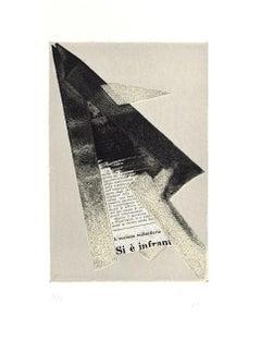 Untitled - Original Mixed Media by Hans Richter - 1973