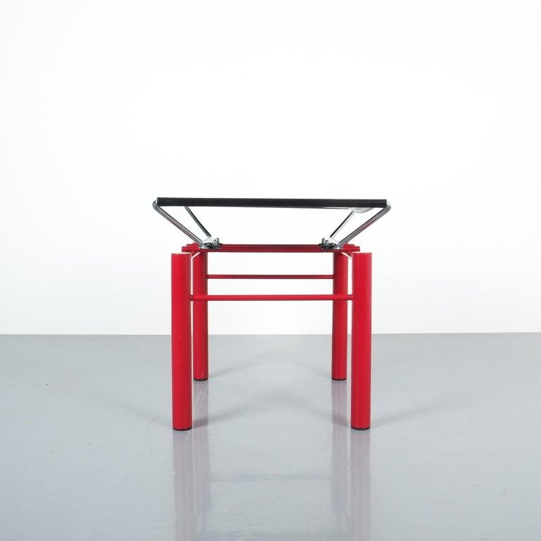 German Hans Ullrich Bitsch Side Table Series 8600, circa 1980 For Sale