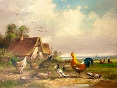 Hans-Ulrich Muhlhausen - Chickens and Pigeons