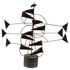 Hans Van De Bovenkamp Kinetic Fountain Sculpture