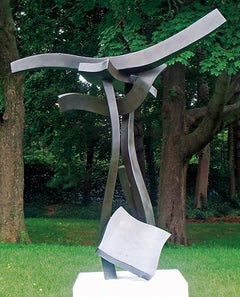 """Quintessence #3"" Abstract, Bronze Metal Sculpture, Large-Scale, Outdoors"