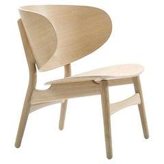 Hans Wegner 1936 Lounge Chair, Lacquered Oak