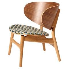 Hans Wegner 1936 Lounge Chair, Seat Upholstered