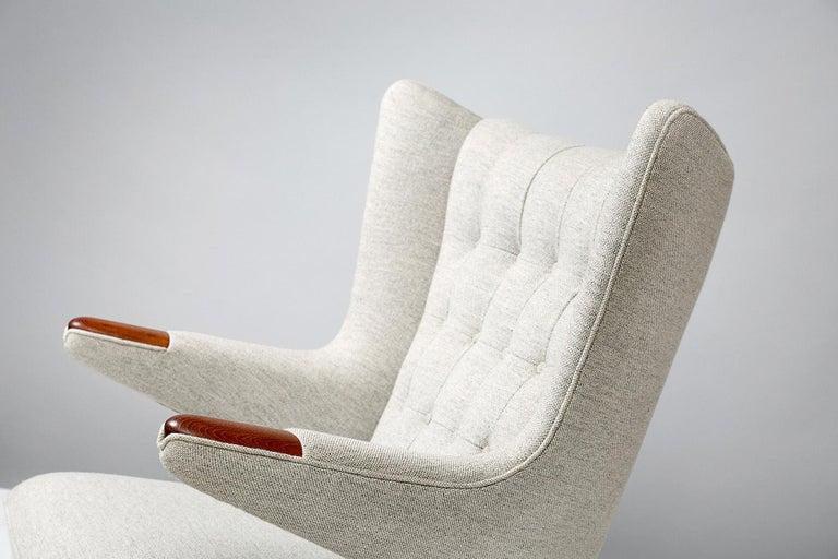 Mid-20th Century Hans Wegner AP-19 Papa Bear Chair, Teak For Sale