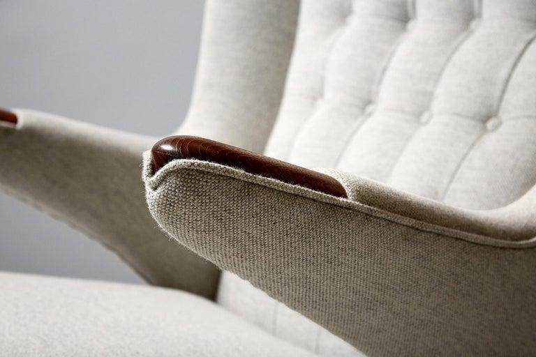Hans Wegner AP-19 Papa Bear Chair, Teak For Sale 2
