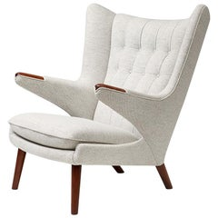Hans Wegner AP-19 Papa Bear Chair, Teak