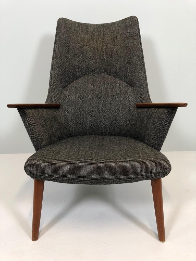 Scandinavian Modern Hans Wegner AP-27 Armchair by A.P. Stolen For Sale