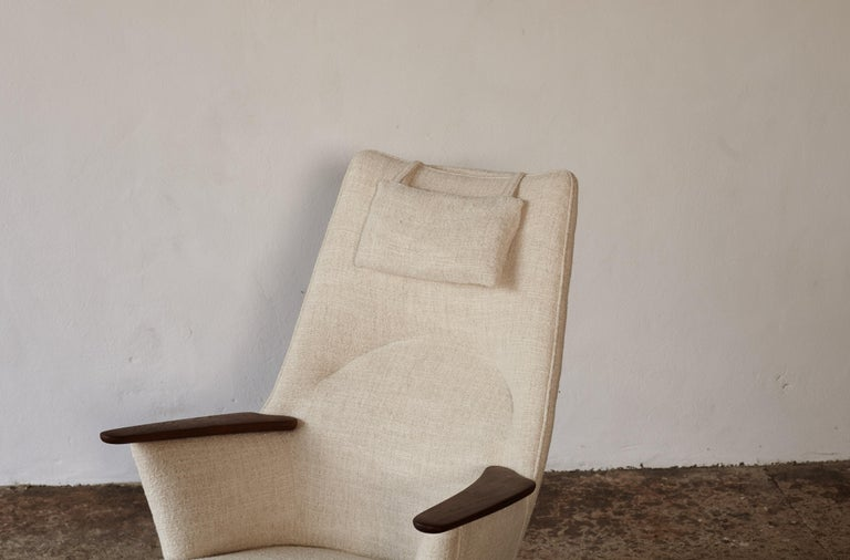 Hans Wegner AP-27 Chair and Ottoman, AP Stolen, Denmark, 1950s 8