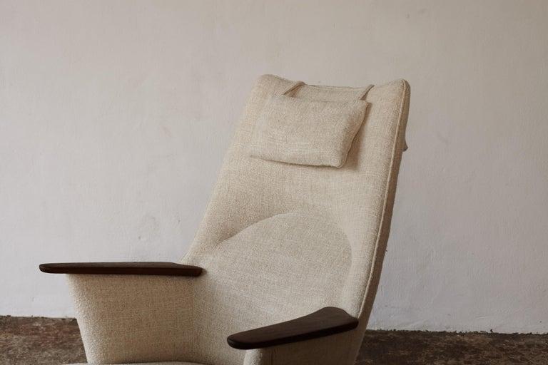 Hans Wegner AP-27 Chair and Ottoman, AP Stolen, Denmark, 1950s 10
