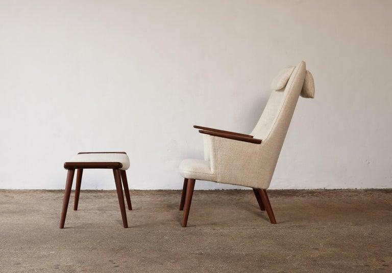 Hans Wegner AP-27 Chair and Ottoman, AP Stolen, Denmark, 1950s 11
