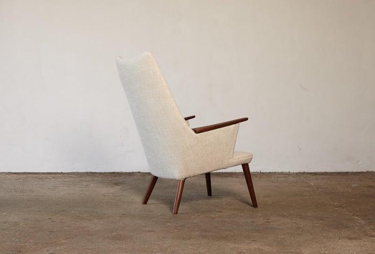 Hans Wegner AP-27 Chair and Ottoman, AP Stolen, Denmark, 1950s 1
