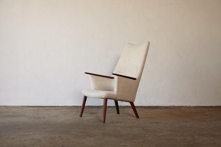 Hans Wegner AP-27 Chair and Ottoman, AP Stolen, Denmark, 1950s 2