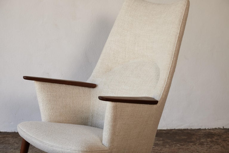 Hans Wegner AP-27 Chair and Ottoman, AP Stolen, Denmark, 1950s 3
