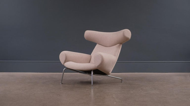 Hans Wegner AP 46 OX Chair In Good Condition For Sale In London, GB