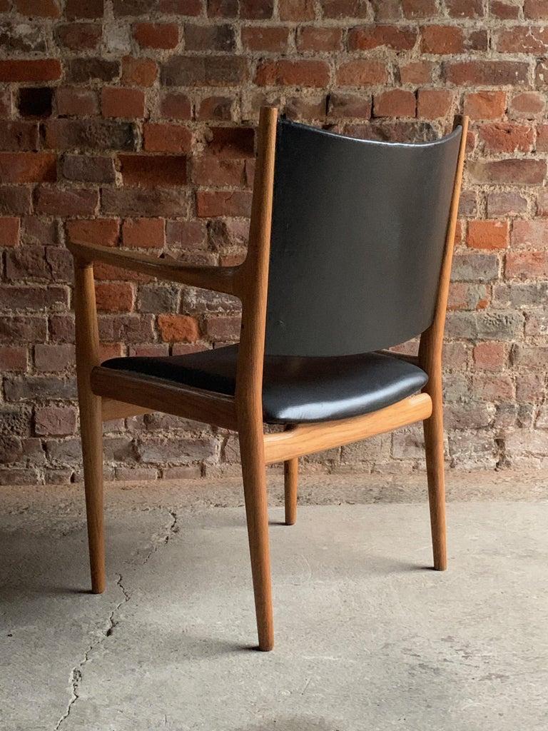 Danish Hans Wegner Armchair JH713 Conference Lounge Chair Johannes Hansen Denmark, 1957 For Sale